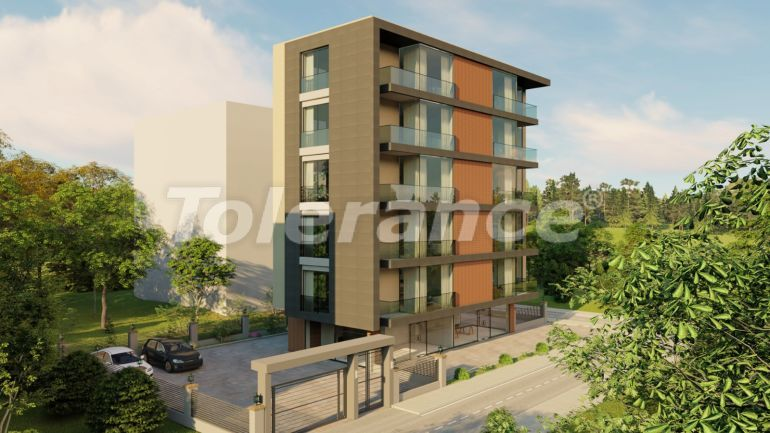 Ultra-modern apartments in Konyaalti with the possibility of installments only 650 meters from the sea - 23278 | Tolerance Homes