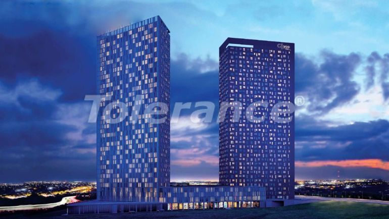 Apartments in Istanbul in a luxury residence hotel with a high rental guarantee - 23371 | Tolerance Homes