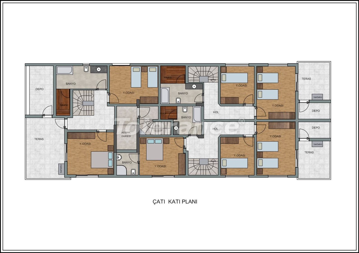 Modern apartments in Liman, Konyaalti near the from a quality and reliable developer - 23727   Tolerance Homes