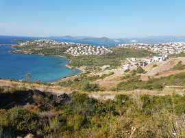 Plot of land in the reserve of the Bodrum Peninsula, in a residential complex on the beach - 23917 | Tolerance Homes