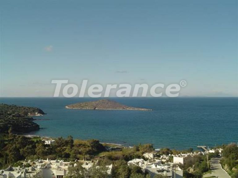 Plot of land in the reserve of the Bodrum Peninsula, in a residential complex on the beach - 23918 | Tolerance Homes