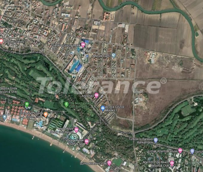 Land for the construction of villas or hotel in Belek - 23969 | Tolerance Homes