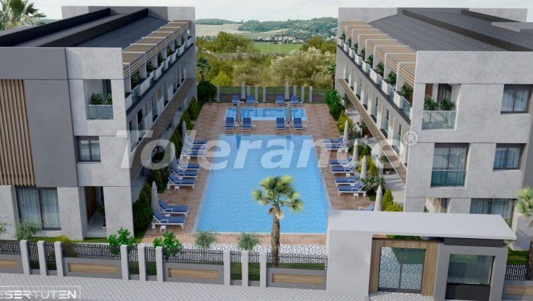 Luxury three-bedroom apartments in Kundu, Antalya near the sandy beach of Lara by installments - 24019 | Tolerance Homes