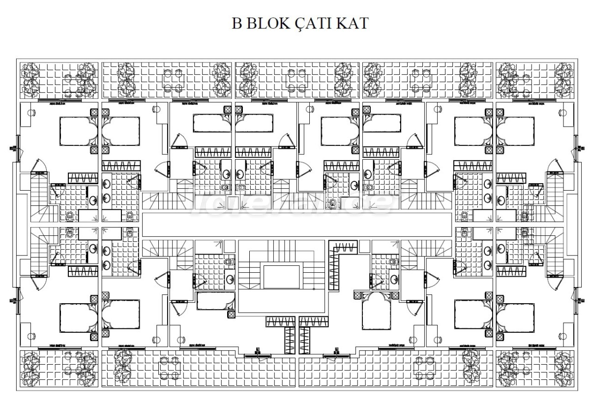 Luxury three-bedroom apartments in Kundu, Antalya near the sandy beach of Lara by installments - 24017 | Tolerance Homes