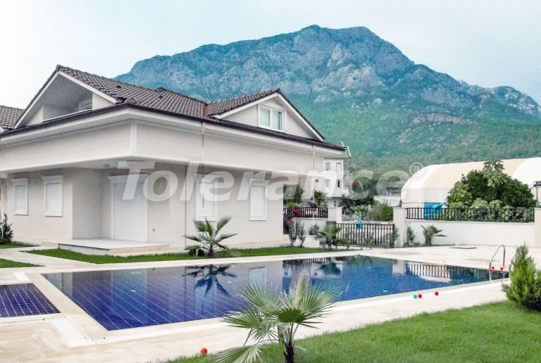 Villa in Kuzdere, Kemer in a complex with a pool - 24048 | Tolerance Homes