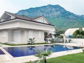Villa in Kuzdere, Kemer in a complex with a pool