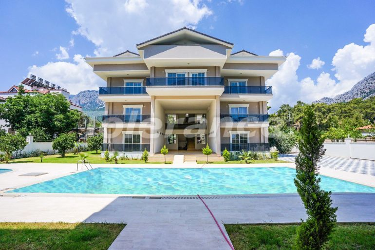 Modern apartments in Arslanbucak, Kemer in a complex with a swimming pool - 40351 | Tolerance Homes