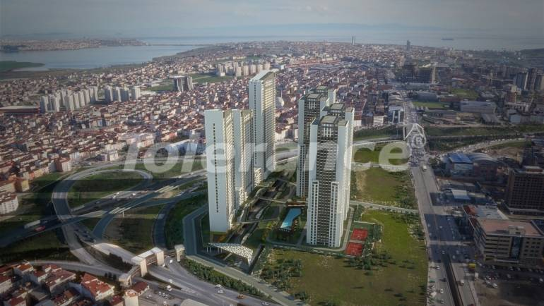 Spacious apartments in Istanbul by installments with direct sea, and lake view - 24085 | Tolerance Homes