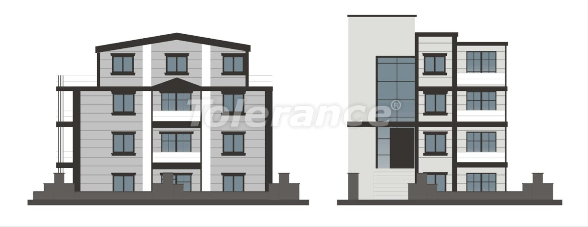 Luxury apartments in a renovated house in the prestigious Altinkum area, Konyaalti near the beach - 24097   Tolerance Homes
