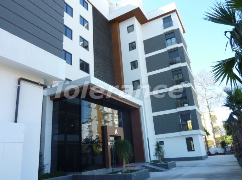 Luxury apartments in Lara, Antalya in a complex with a swimming pool - 24368   Tolerance Homes