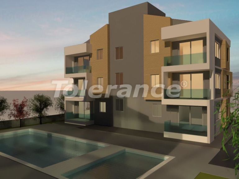 New two-bedroom apartments in Belek in a complex with a swimming pool - 24550 | Tolerance Homes