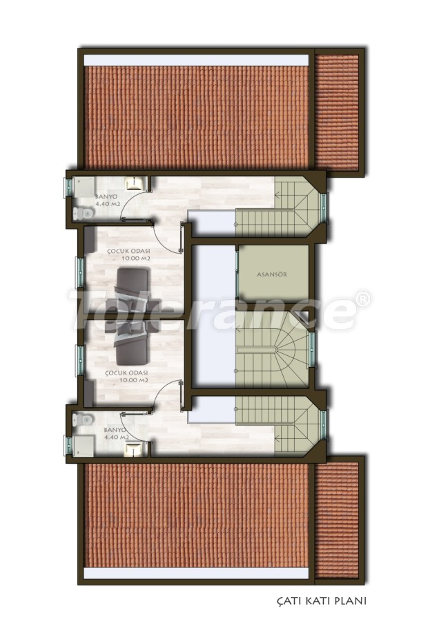 New two-bedroom apartments in Belek in a complex with a swimming pool - 24539 | Tolerance Homes