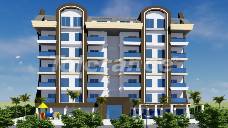 Apartments in Mahmutlar, in a complex with a swimming pool - 24624   Tolerance Homes