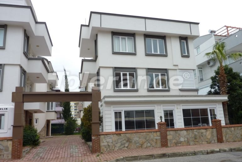 4 three-storey villas in Lara, Antalya 300 meters from the sea with the possibility of opening a hotel - 25143   Tolerance Homes