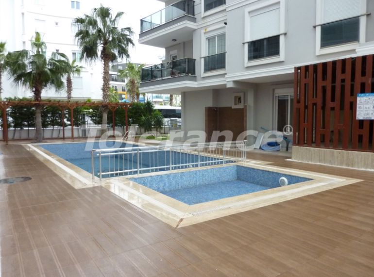 Spacious apartments in Hurma, Konyaalti in a complex with a swimming pool - 25284 | Tolerance Homes
