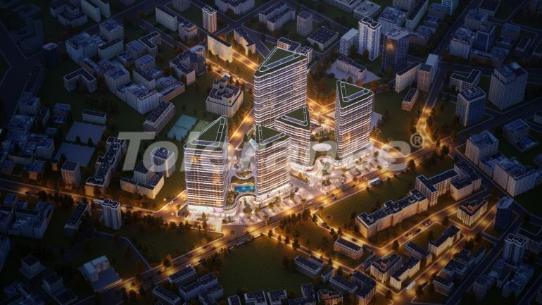Modern apartments in Izmir from a developer in an elite complex with a rich infrastructure - 25193 | Tolerance Homes