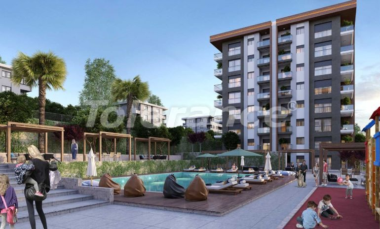 Modern apartments in Izmir in a complex with a swimming pool from  the reliable developer - 25438 | Tolerance Homes