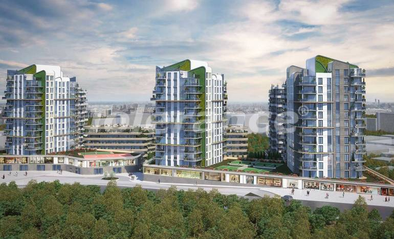 Luxury apartments in Bahcelievler, Istanbul with installments from the developer - 25451 | Tolerance Homes