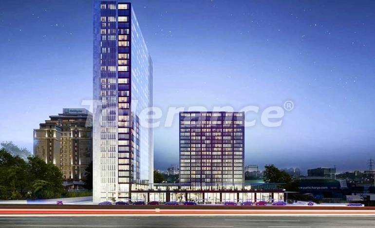 Luxury apartments in Istanbul in a modern complex at the intersection of important transport routes - 25477 | Tolerance Homes