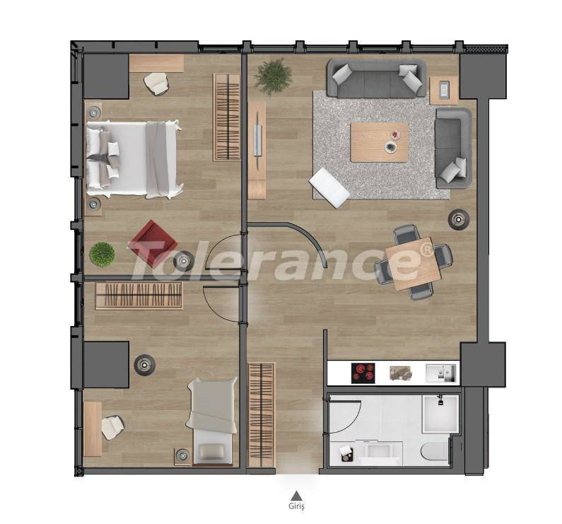 Luxury apartments in Istanbul in a modern complex at the intersection of important transport routes - 26618 | Tolerance Homes