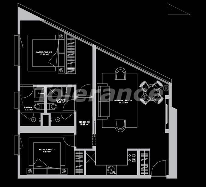 Luxurious project from the developer in Istanbul of exclusive design and a rental guarantee of 20 years - 26654 | Tolerance Homes