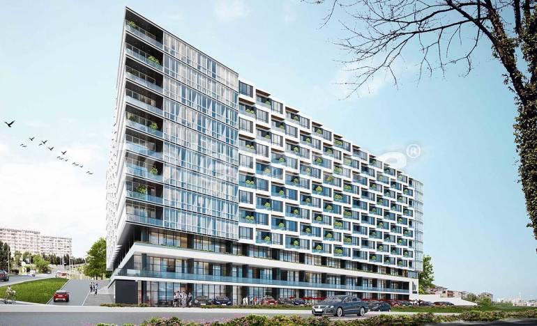Modern apartments in Beylikduzu, Istanbul with panoramic view to the Marmara Sea - 25519 | Tolerance Homes