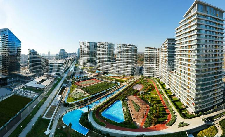 Luxurious apartments and offices in Istanbul in a modern complex with infrastructure - 25557   Tolerance Homes