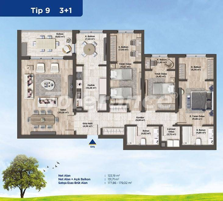 Apartments in Istanbul from the developer in a profitable investment project - 26989   Tolerance Homes