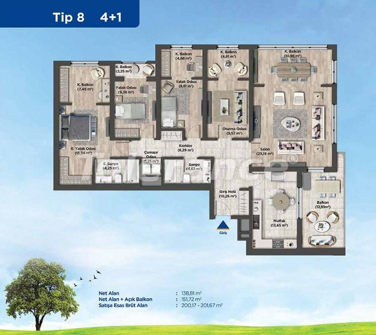 Apartments in Istanbul from the developer in a profitable investment project - 26991   Tolerance Homes