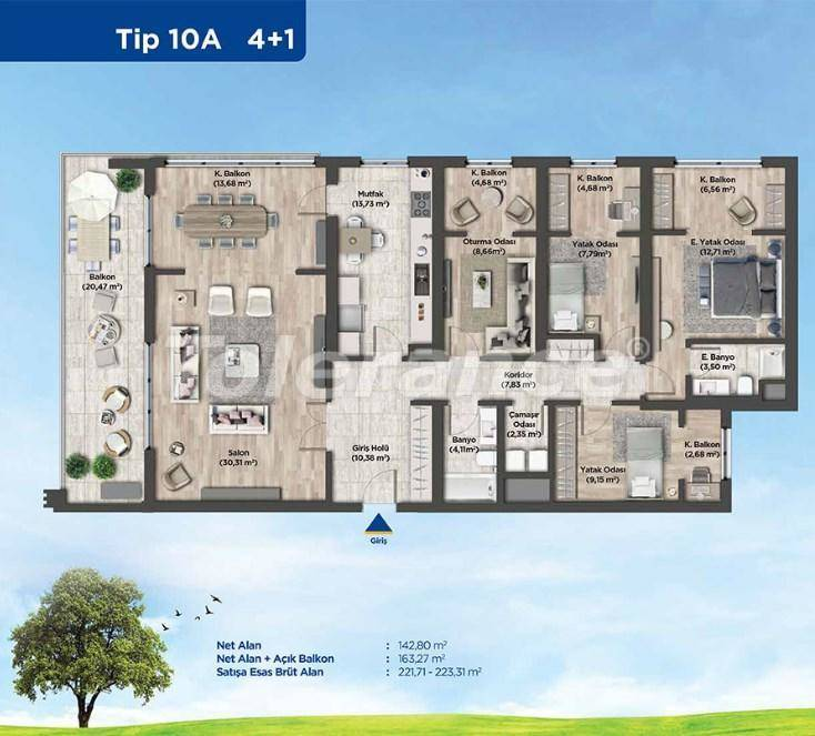 Apartments in Istanbul from the developer in a profitable investment project - 26992   Tolerance Homes