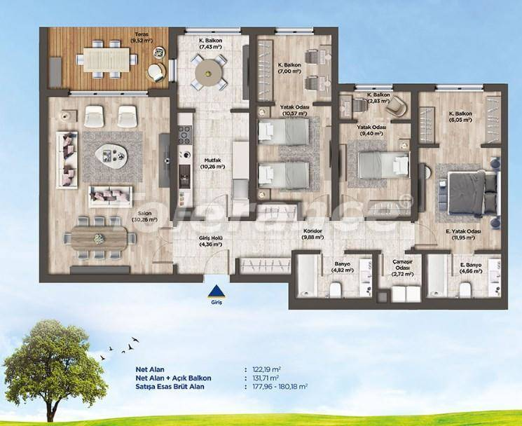 Apartments in Istanbul from the developer in a profitable investment project - 26990   Tolerance Homes