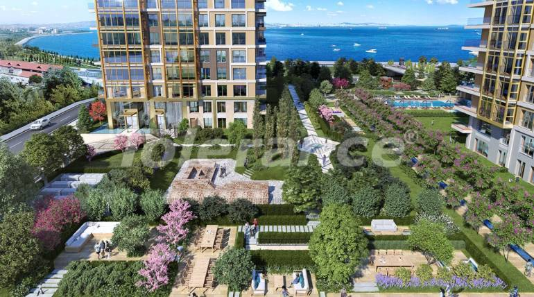 Luxury apartments in Istanbul with sea views by installments from the developer - 27049 | Tolerance Homes