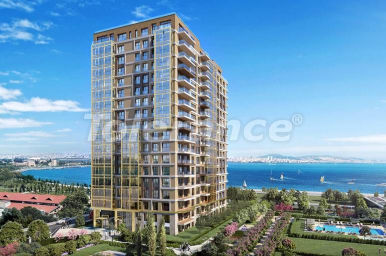 Luxury apartments in Istanbul with sea views by installments from the developer - 27046 | Tolerance Homes
