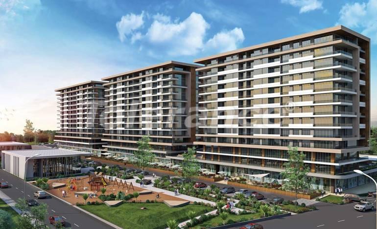 Luxury apartments in Beylikduzu, Istanbul in a modern complex with sea views - 25699   Tolerance Homes