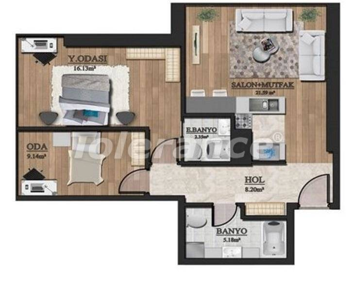 Investment project: affordable apartments in Istanbul with sea view - 27129 | Tolerance Homes