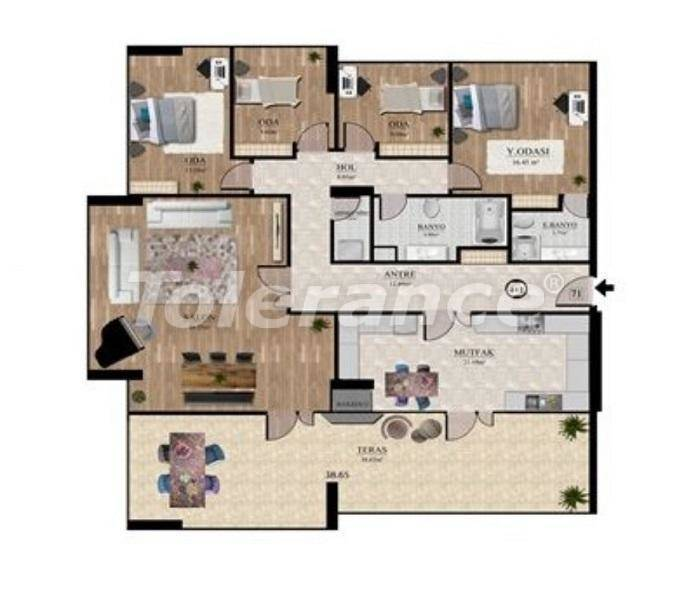 Investment project: affordable apartments in Istanbul with sea view - 27131 | Tolerance Homes
