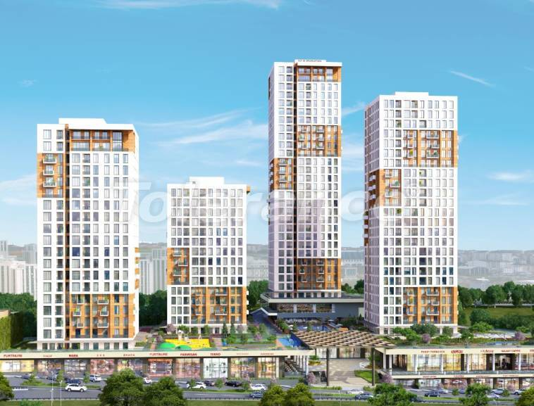 High quality apartments in Istanbul with installments and 3 years rental guarantee - 31965 | Tolerance Homes