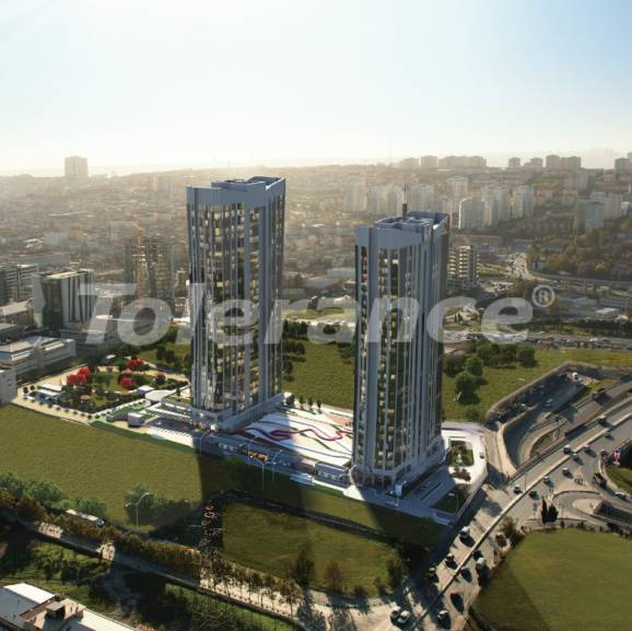 Luxury apartments in Istanbul in an elite complex, profitable for investment - 27183   Tolerance Homes