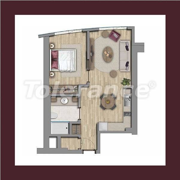 Luxury apartments in Istanbul by installments from the developer - 27175 | Tolerance Homes