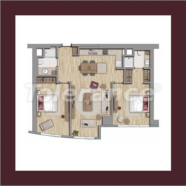 Luxury apartments in Istanbul in an elite complex, profitable for investment - 27179   Tolerance Homes