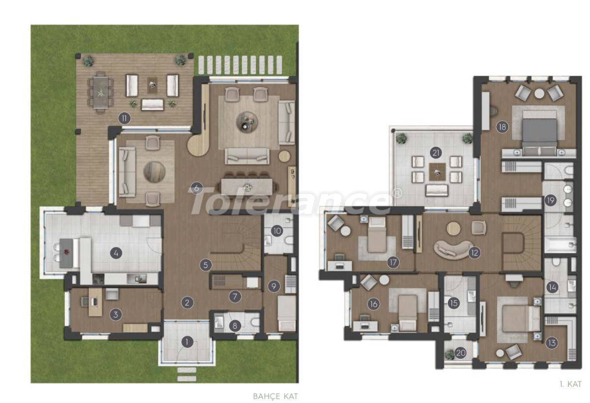Luxury spacious apartments in Istanbul from the developer - 27282 | Tolerance Homes