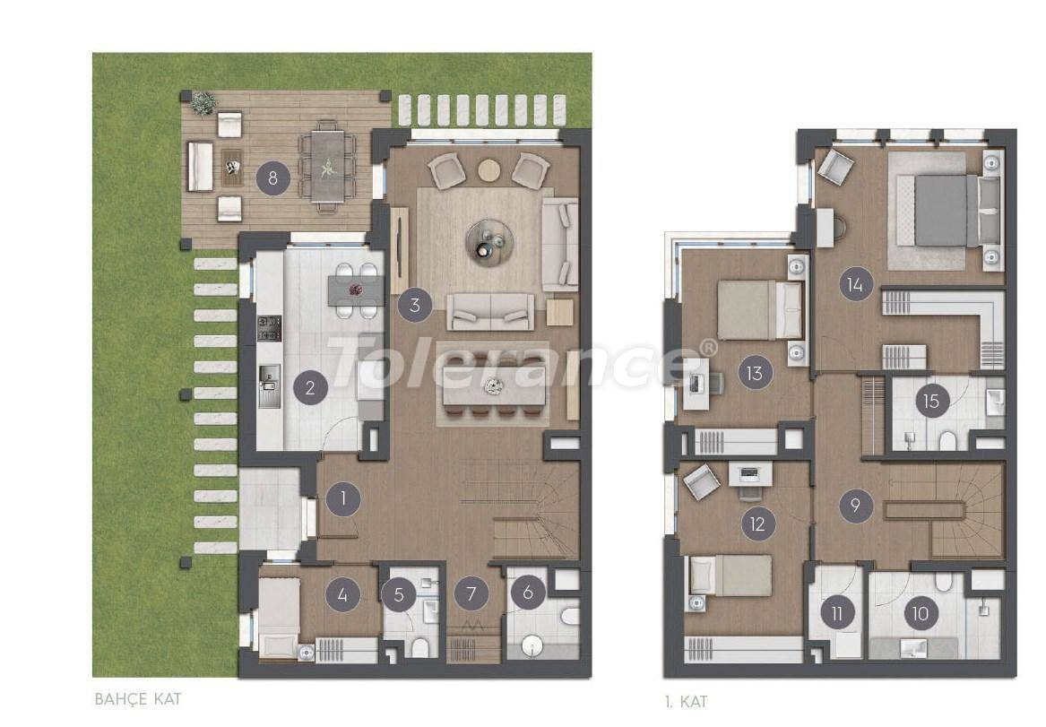 Luxury spacious apartments in Istanbul from the developer - 27277 | Tolerance Homes