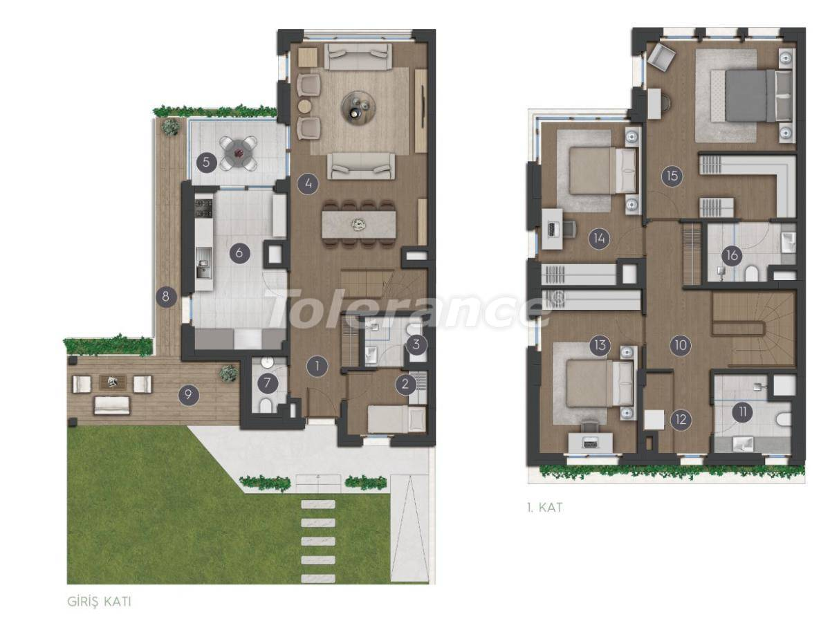 Luxury spacious apartments in Istanbul from the developer - 27284 | Tolerance Homes