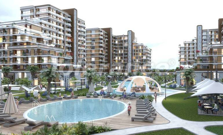 Apartments in a modern complex in Istanbul with a rich infrastructure by installments from the developer - 25783   Tolerance Homes