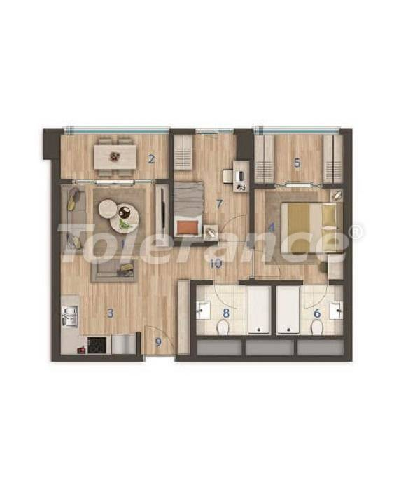 Modern apartments in the center of Istanbul of the best quality from the developer - 27395 | Tolerance Homes