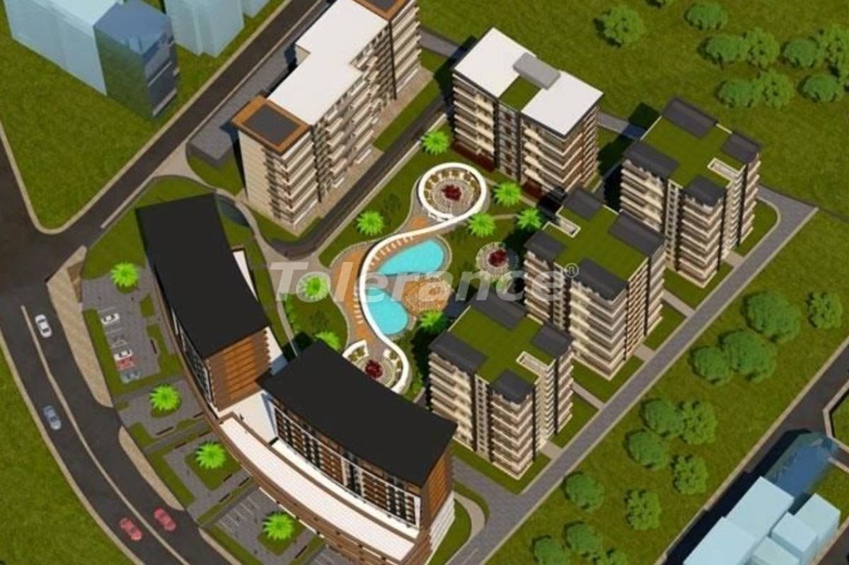 Luxury apartments in Beylikduzu, Istanbul with installments in a complex with infrastructure - 27411 | Tolerance Homes