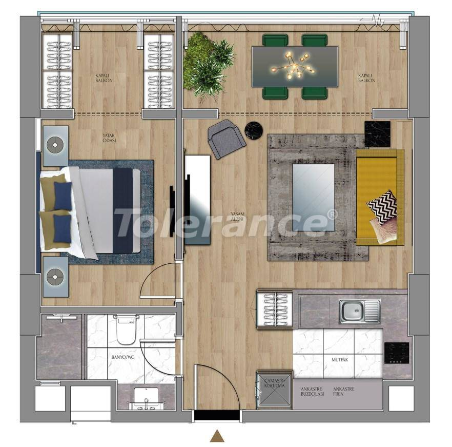 Luxury apartments and offices in Sariyer, Istanbul near the TEM highway and Belgrade Forests - 27429 | Tolerance Homes