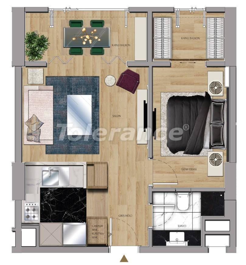 Luxury apartments and offices in Sariyer, Istanbul near the TEM highway and Belgrade Forests - 27428 | Tolerance Homes