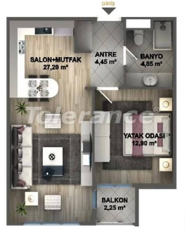 Luxury apartments in Istanbul in a project profitable for investment from the developer - 27532 | Tolerance Homes