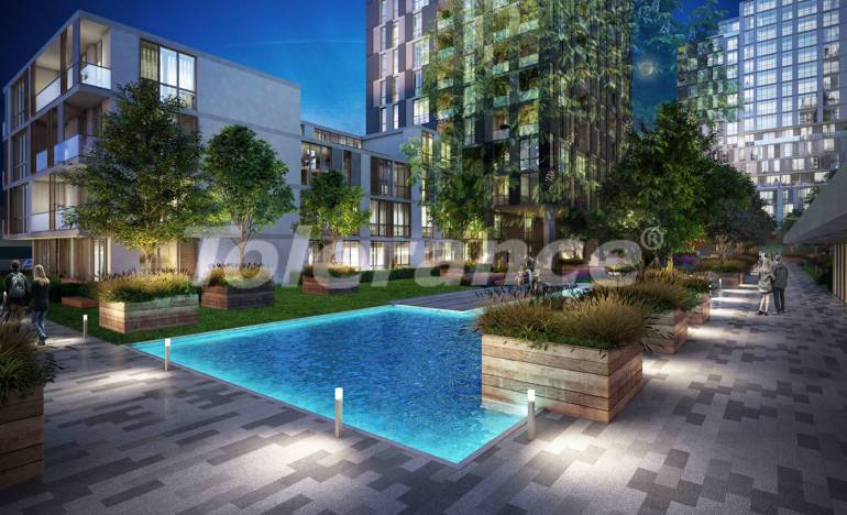 Modern apartments in Istanbul in a complex with a rich infrastructure, and with an advantageous location - 25865 | Tolerance Homes